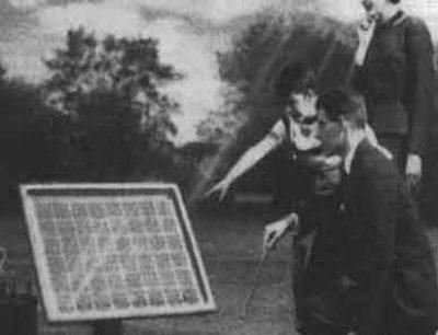 early solar panel